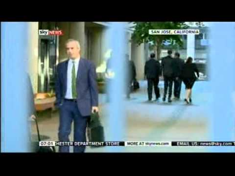 U.S. Lawsuit: Samsung told to pay Apple $1bn (Sky News coverage - Part 1)