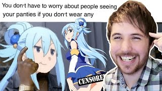 BAD ANIME LIFE ADVICE