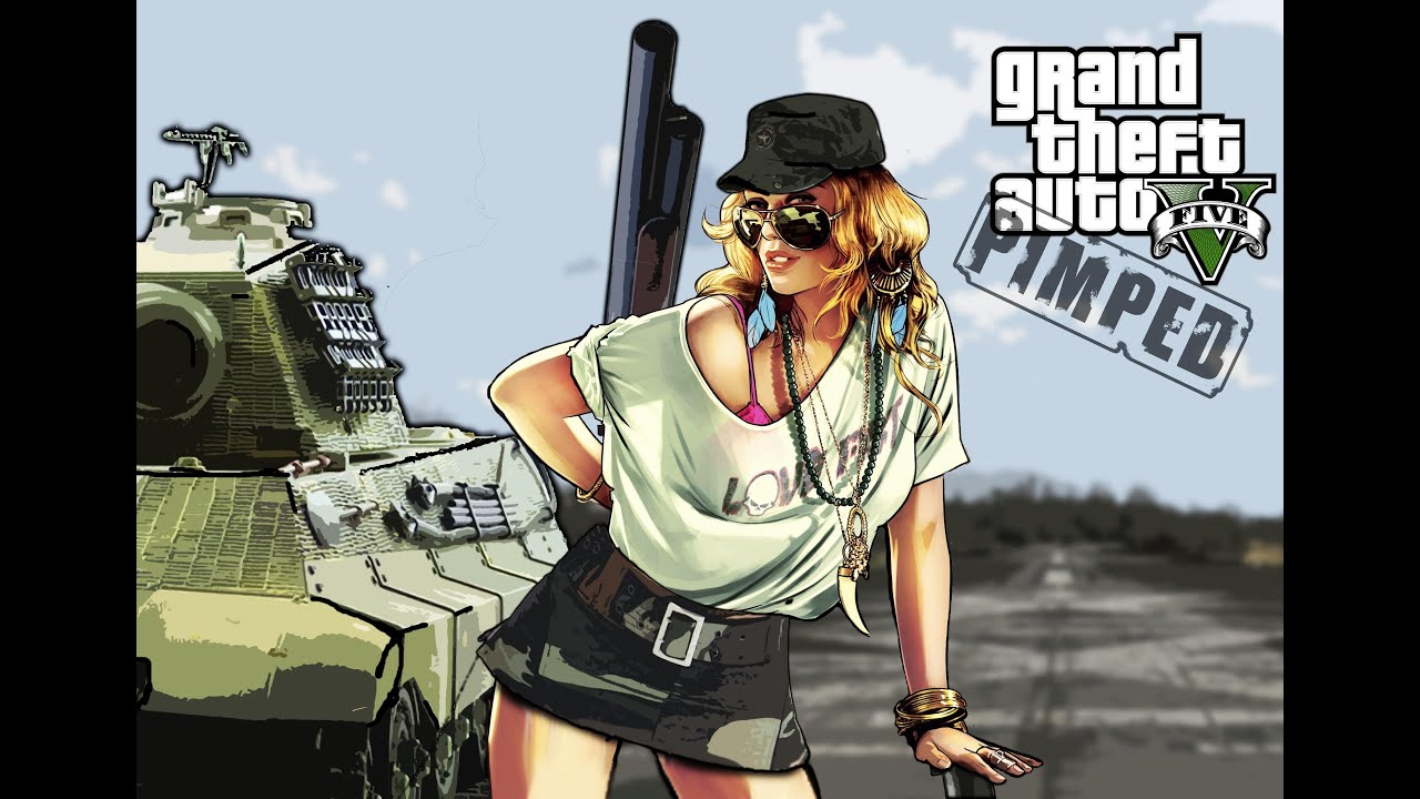 "Grand Max Modification >> GTA 5 // Artwork // Pimped // POLICE LADY to "" ARMY - LADY "" // Photoshop - YouTube"