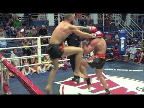Çağan Atakan Arslan (Tiger Muay Thai) Vs Ian (Lion Muay Thai) @ Bangla Stadium 11/6/2014