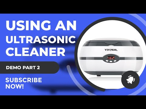 How To: Ultrasonic Cleaning Your Airbrush Part 2