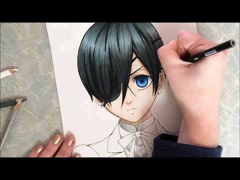Ciel Phantomhive Speed Drawing (Black Butler)