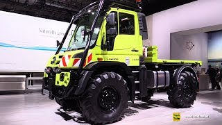 2019 Mercedes Unimog U530 Utility Vehicle - Exterior and Interior Walkaround - 2018 IAA Hannover
