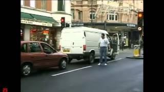 Trigger Happy TV. White van man Roadrage scene.