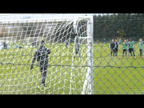 Thibaut Courtois Training 15/11/2014
