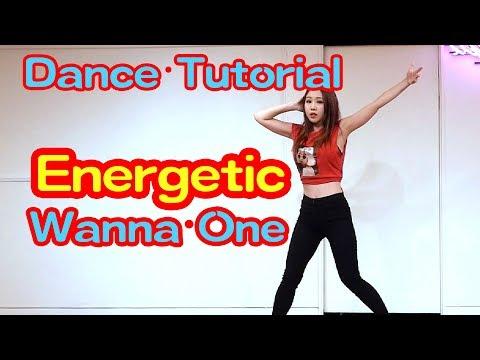 강다니엘 워너원 에너제틱 거울모드 설명강좌 Dance Tutorial Mirrored Energetic WAVEYA