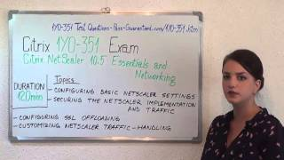 1Y0-351 – Citrix Exam NetScaler 10.5 Essentials Test Networking Questions