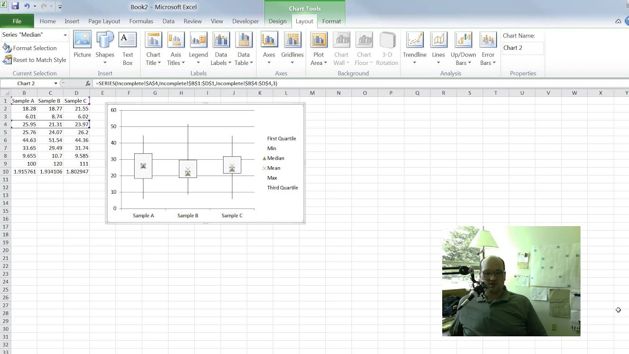 box and whisker plot excel template gallery avery