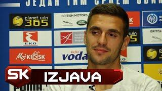 Kapiten Dušan Tadić Pred Meč Lige Nacija Crna Gora - Srbija  | SPORT KLUB Fudbal