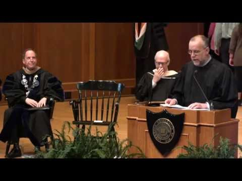 Matriculation Convocation - Mark Burstein - Sustaining Dialogue - 09.18.14