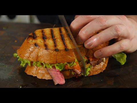 Сендвич-стейк по рецепту Гордона Рамзи