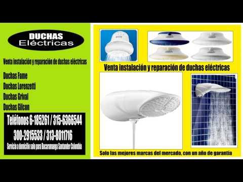 Duchas eléctricas - Servicio a domicilio solo para Bucaramanga