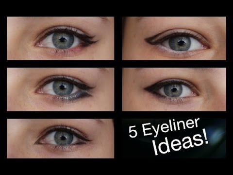5 Unique and Different Eyeliner Ideas!