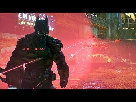 BATMAN Arkham Knight - Creative Hacking and Sabotage Moments