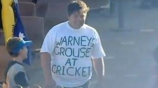 Shane Warne makes fan REALLY ANGRY 'that' kid at the WACA