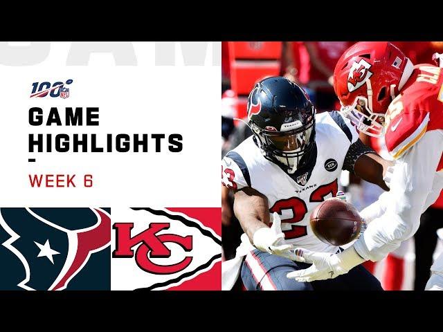Texans vs. Chiefs Week 6 Highlights | NFL 2019 thumbnail