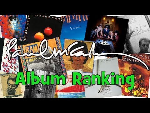 Paul McCartney Album Ranking