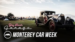 Monterey Car Week 2015: The Lawns - Jay Leno's Garage