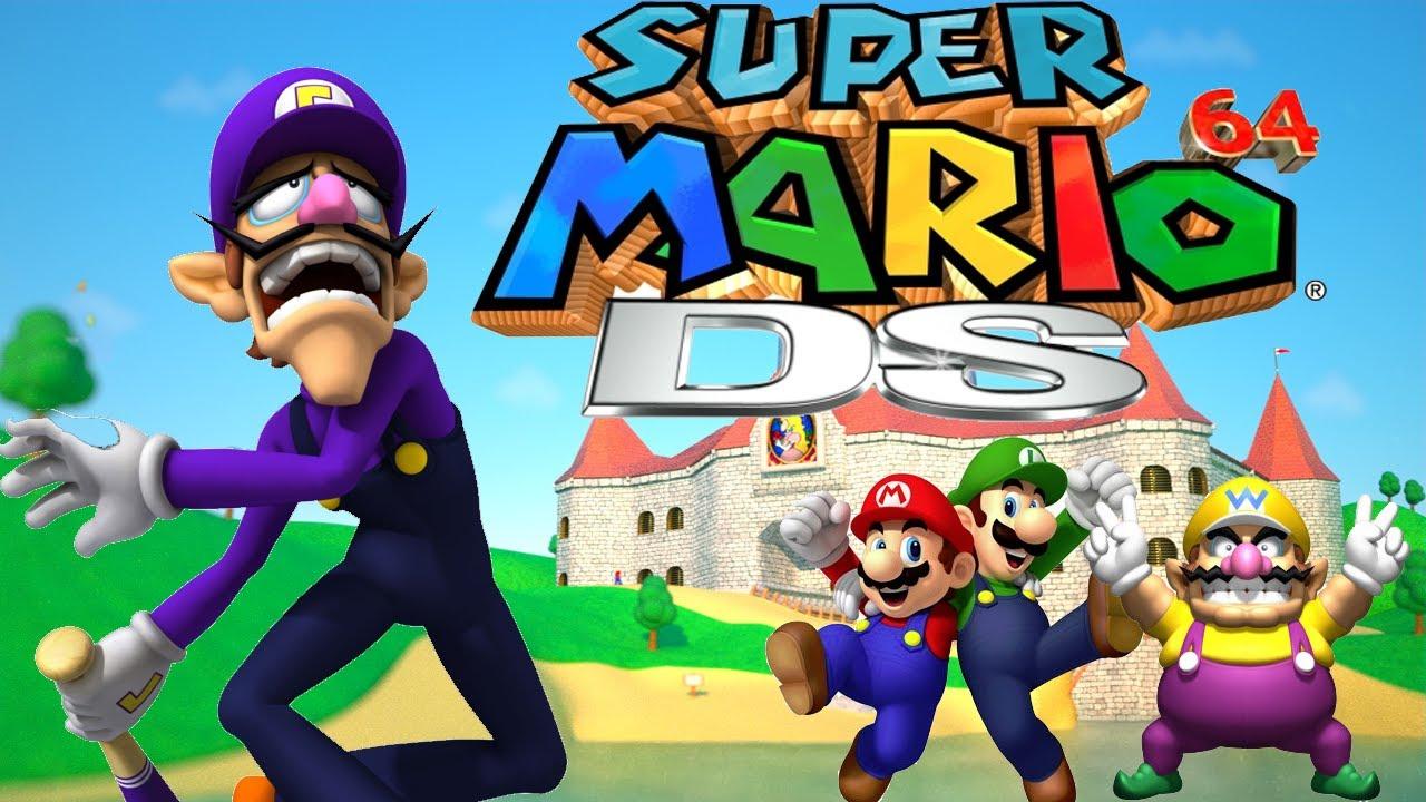 super mario 64 how to get wario