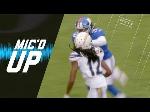 Janoris Jenkins Mic'd Up Battling High School Rival Travis Benjamin (Week 5) | NFL Sound FX
