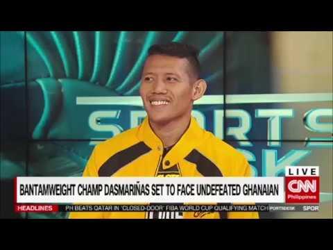 Bantamweight champ Dasmariñas set to face undefeated Ghanaian