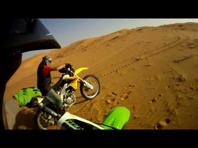 Dirt Bike liwa Desert long desert Ride
