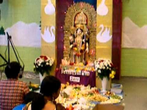 Saraswati Puja 2011 , Pujari Finaland Part 6(bangla Anjali) video