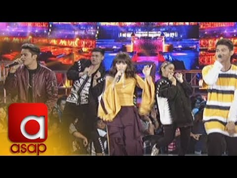 ASAP: Sarah G, James Reid and Inigo Pascual create the perfect trio for your listening pleas