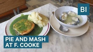 We Tried Pie, Mash, and Jellied Eels At One Of London