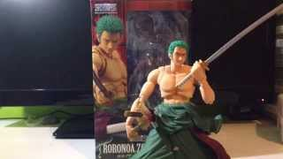 Variable action hero Zoro Roronoa stop motion