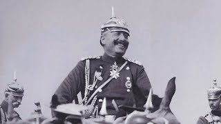 Kaiser Wilhelm II reviews his troops at various parades