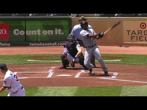 Torii Hunter hits his 300th homer in Minnesota June 16 2013