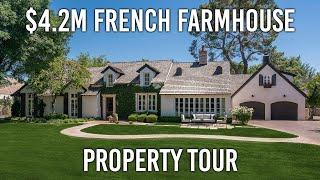 $4.2 Million French Farmhouse Property Tour | Raul & Jack