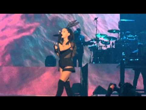 Ariana Grande sings