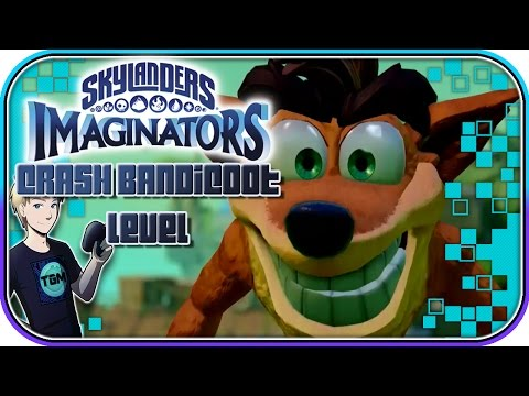 Skylanders Imaginators - CRASH BANDICOOT IS BACK! Thumpin' Wumpa Islands - FULL LEVEL!