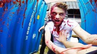 Zombie Apocalypse VS Parkour POV Chase