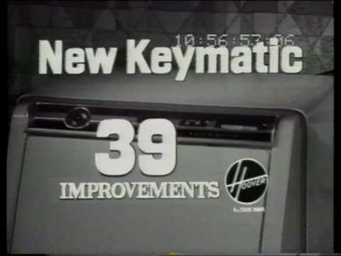 Keymatic washing machine 1965 (Hoover)