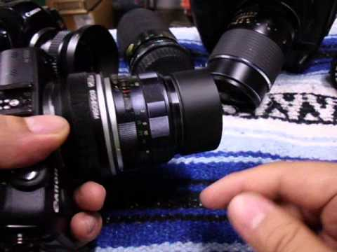 Canon EOS M - How to use Vintage Manual Lenses