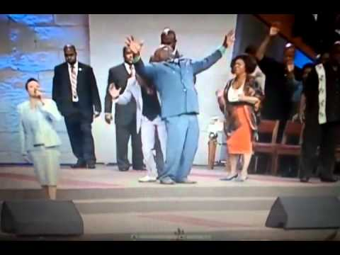 God Uses Tyler Perry To Lay Hands On Bishop Td Jakes video