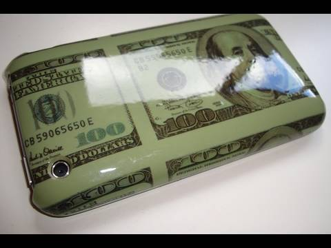 '100 Dollar Bill' iPhone Case and Leather Cases Review Video