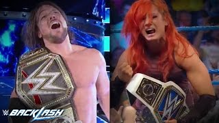 WWE Backlash 2016 Review - AJ STYLES IS WWE WORLD CHAMPION!
