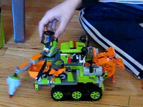 Lego Crystal Sweeper Review--by Michael