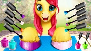 Fun Pony Care Kids Games - Pony Girls Horse Care Resort 2 - Animal Style & Dress Up Games For Girls