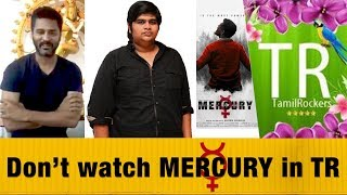 Prabhudeva's Reuest to Tamil Audience | Mercury Movie | Karthik Subbaraj