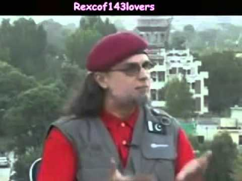 Pakistan Beghairat Brigade Chief Kazzab Zaid Hamid On Al Zazeera...