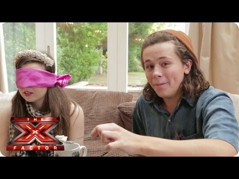 A Blindfolded Abi Alton Takes On Her Samsung Video Diary - The X Factor Uk 2013 video