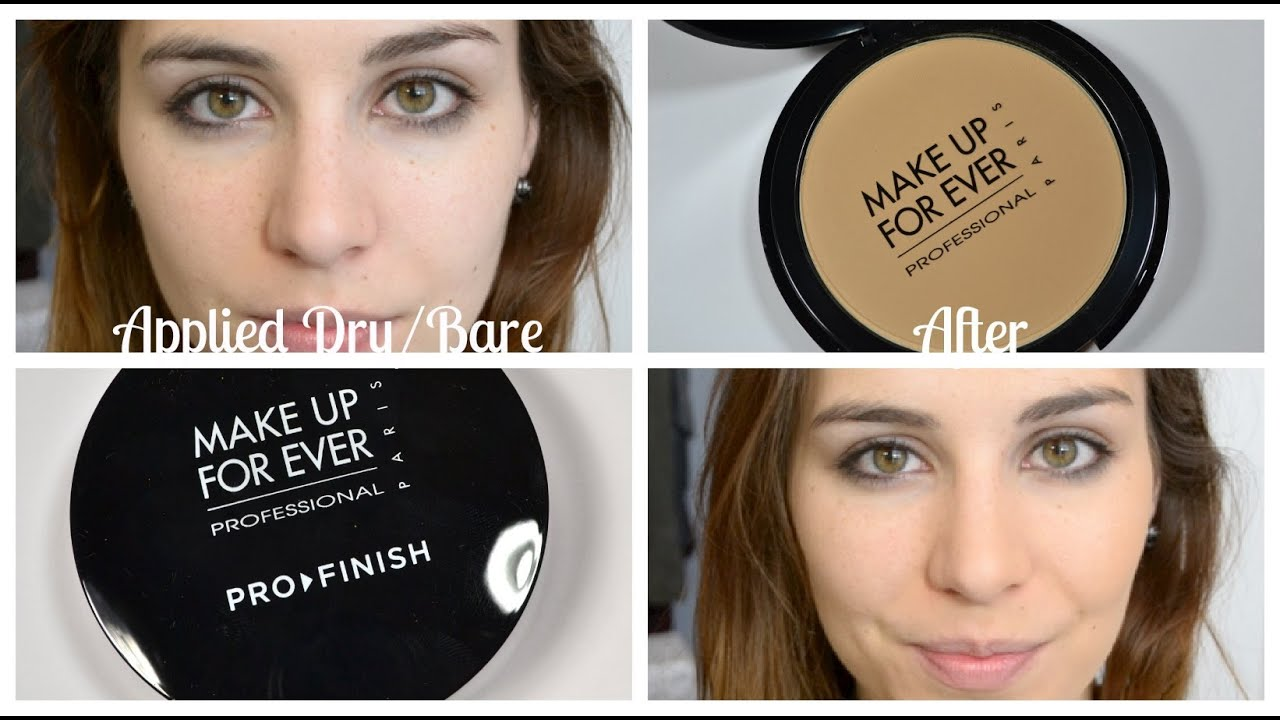 Review: MAKE UP FOR EVER Pro Finish Foundation   Bailey B ...
