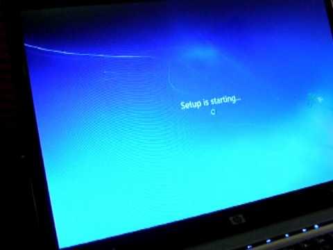 Upgading an HP Pavilion (dv6000) Laptop to Windows 7