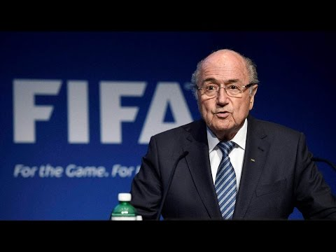 Sepp Blatter to resign as FIFA president after corruption scam