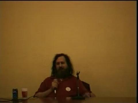 El movimiento del software libre.Richard Stallman